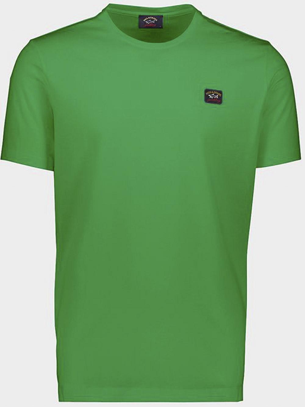 PAUL & SHARK Μπλούζα T-Shirt COP1002-061 ΠΡΑΣΙΝΟ