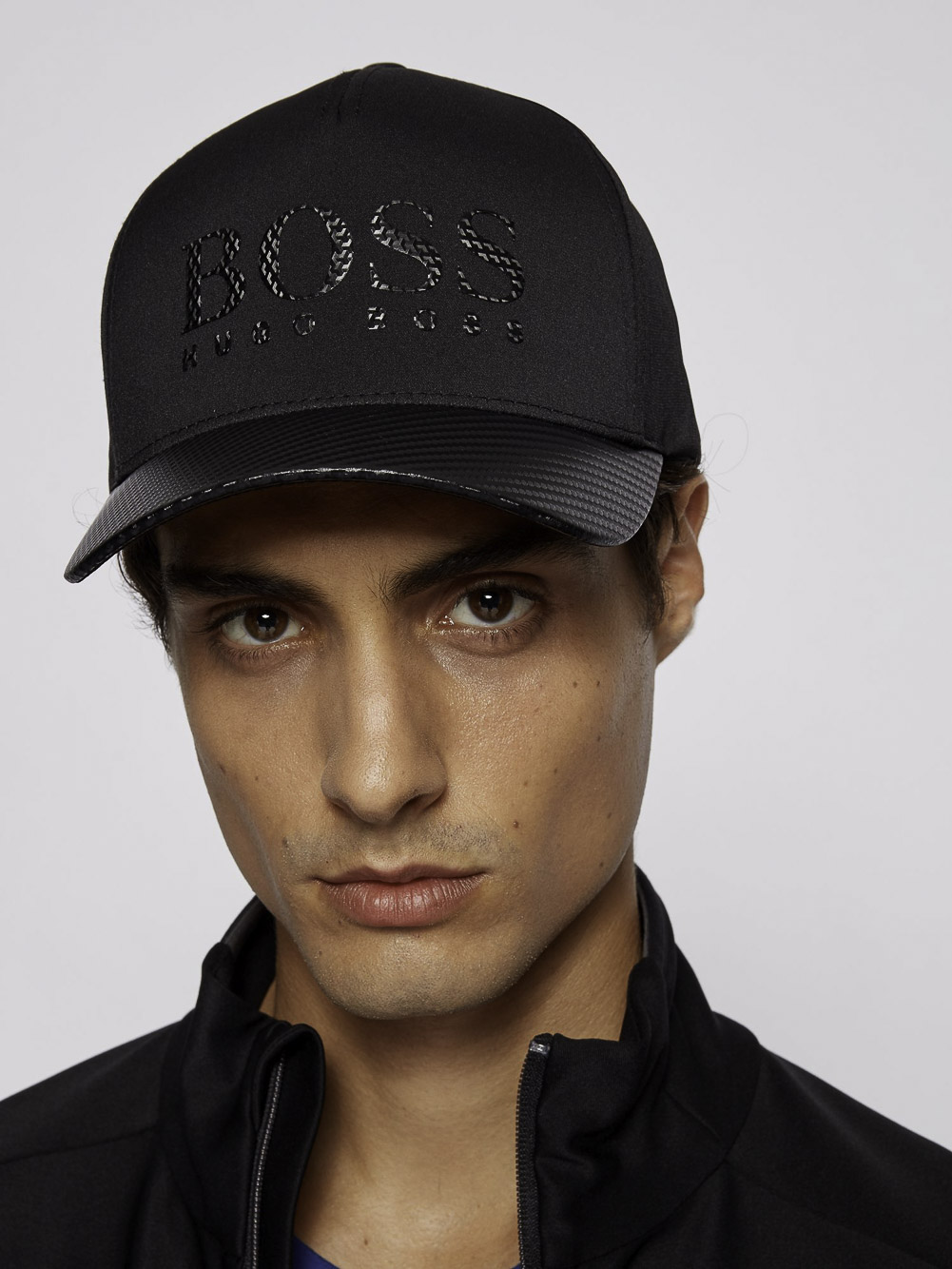 Boss. Καπέλο jockey 50435570-001 ΜΑΥΡΟ