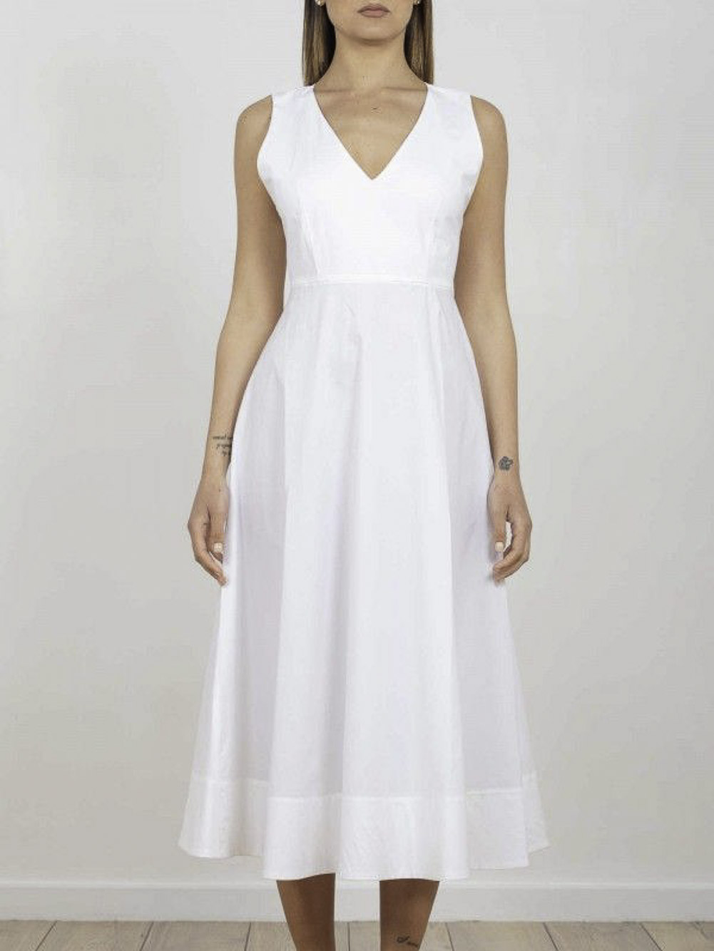 Marella Φόρεμα PANTEON 32210512 OPTICAL WHITE