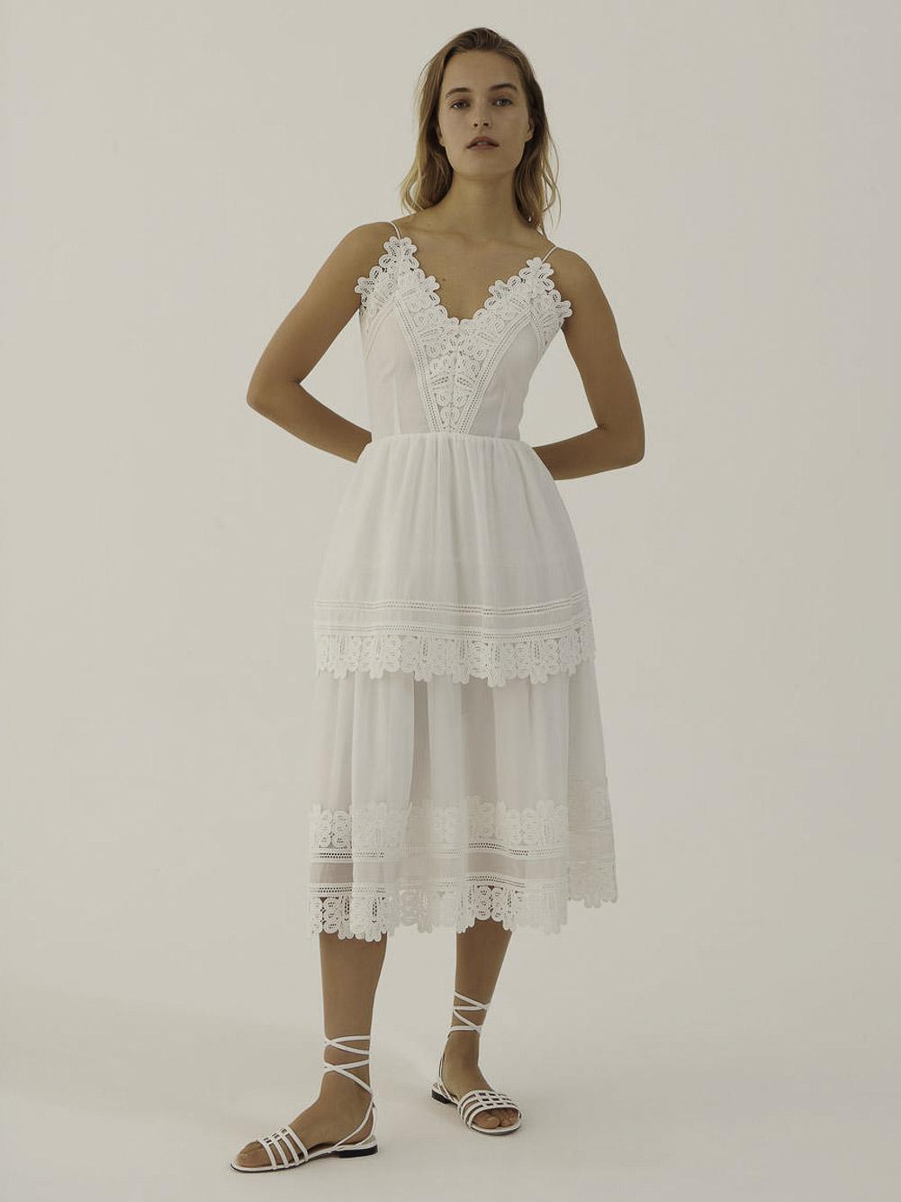 Marella Φόρεμα PELAGO 32210312 CREAM