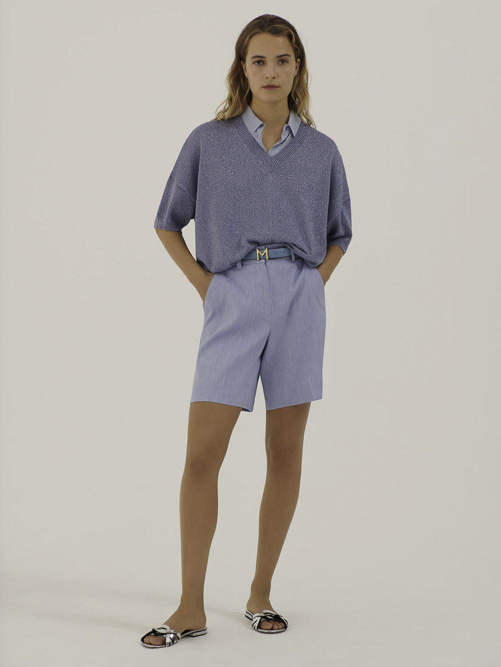 Marella Μπλούζα KEY 33610815 SKY BLUE
