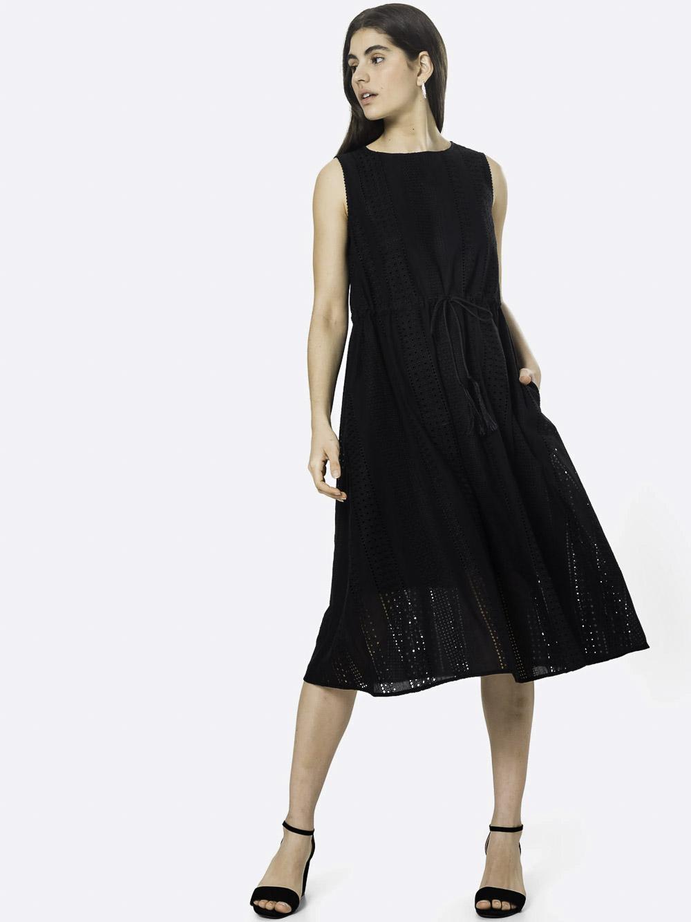 Marella Φόρεμα NEPTUNE 32211612 BLACK