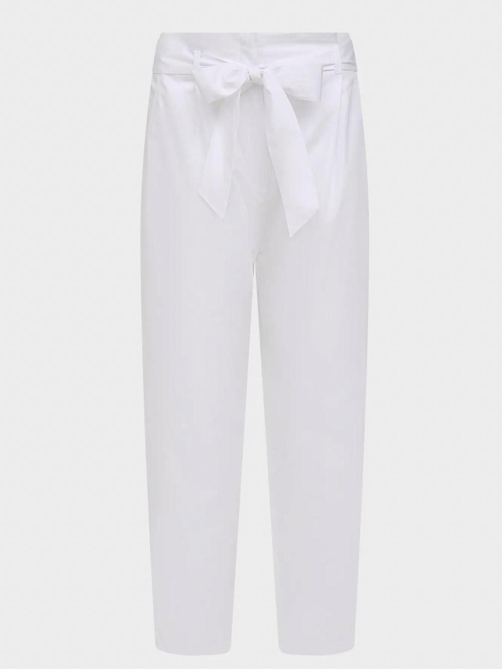 Παντελόνι SAVOIA 51311714 OPTICAL WHITE