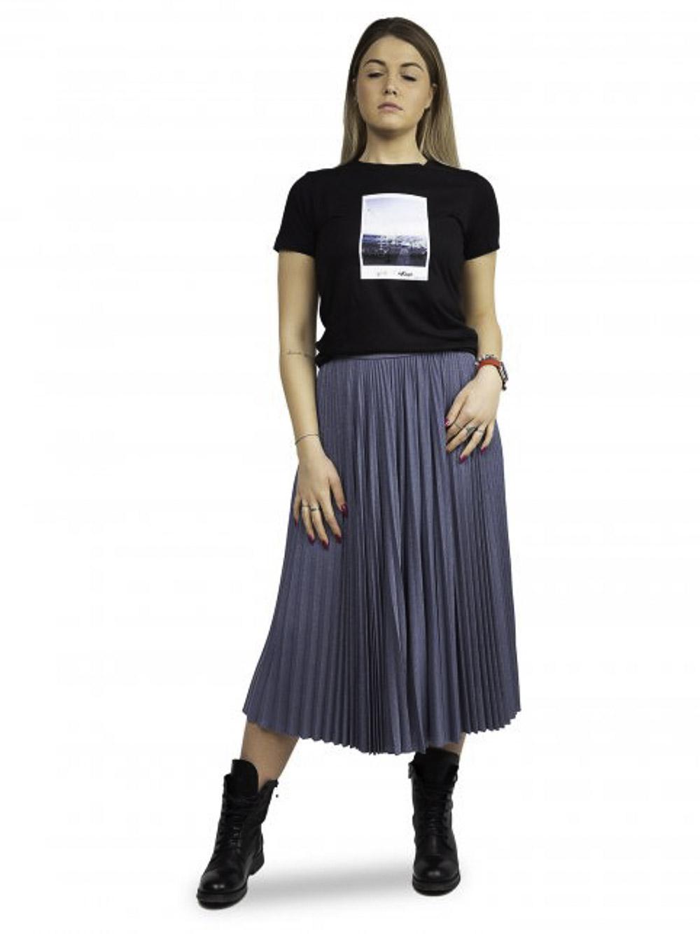 Marella Πλεκτή μπλούζα GOMMA 39710612 BLACK