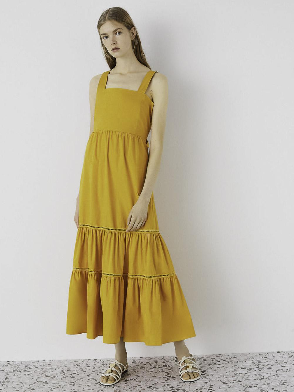 Emme Marella Φόρεμα ATROPOS 52210314 YELLOW