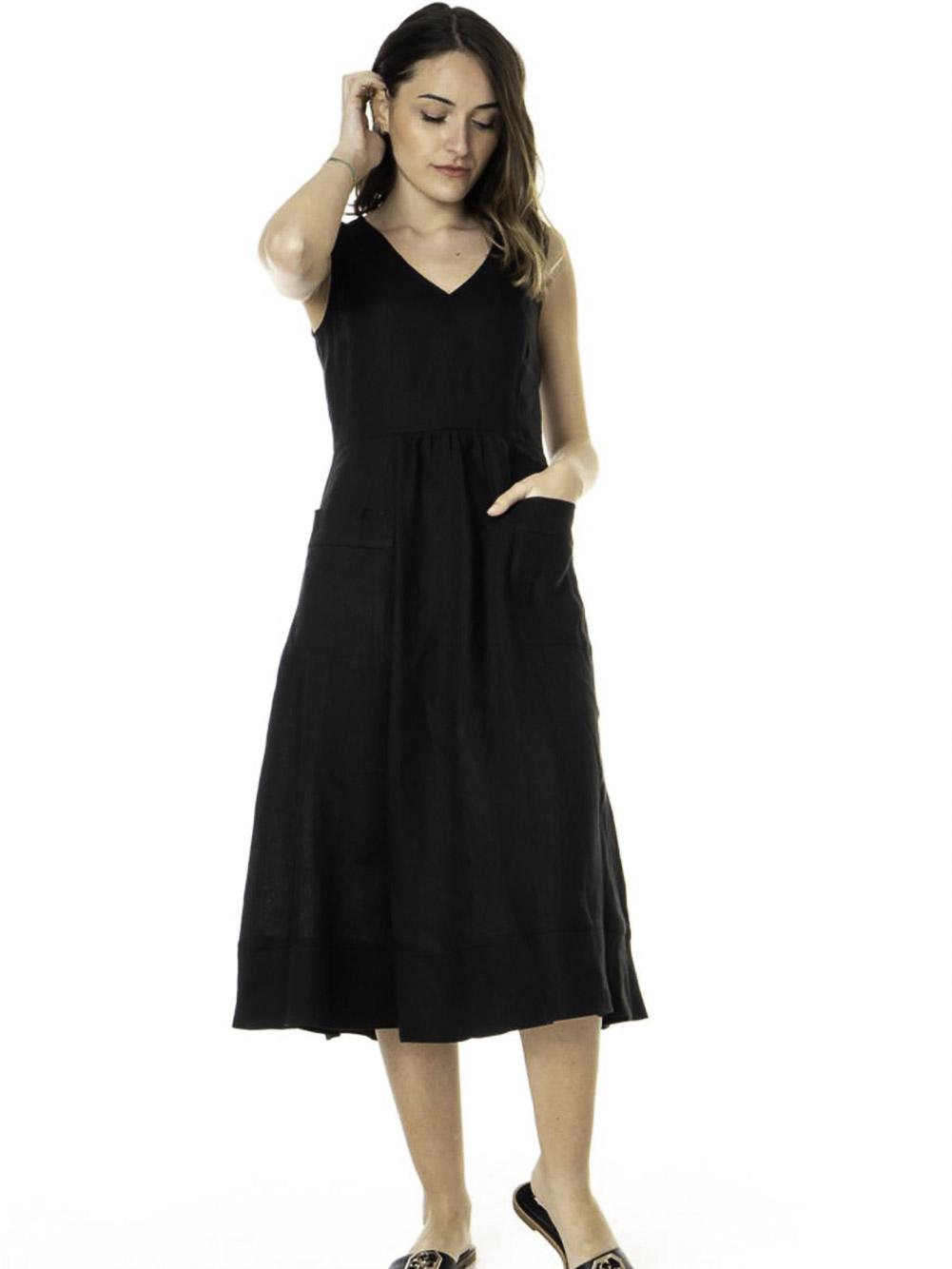 Emme Marella Φόρεμα ANTIBES 52211814 BLACK