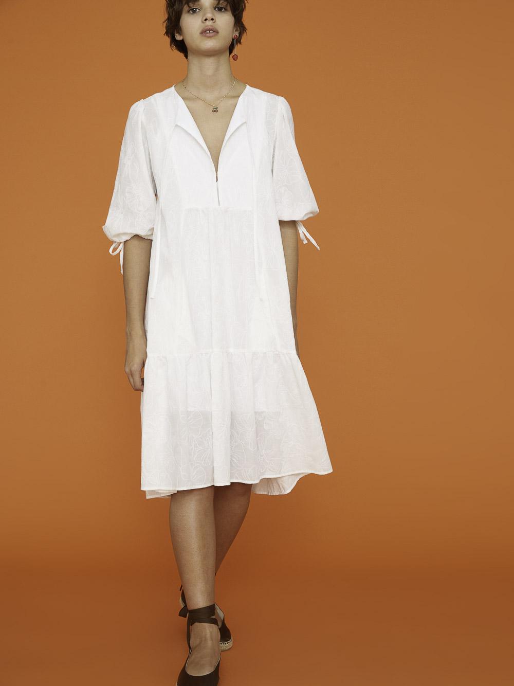 I Blues Φόρεμα RASOIO 72211412 WHITE