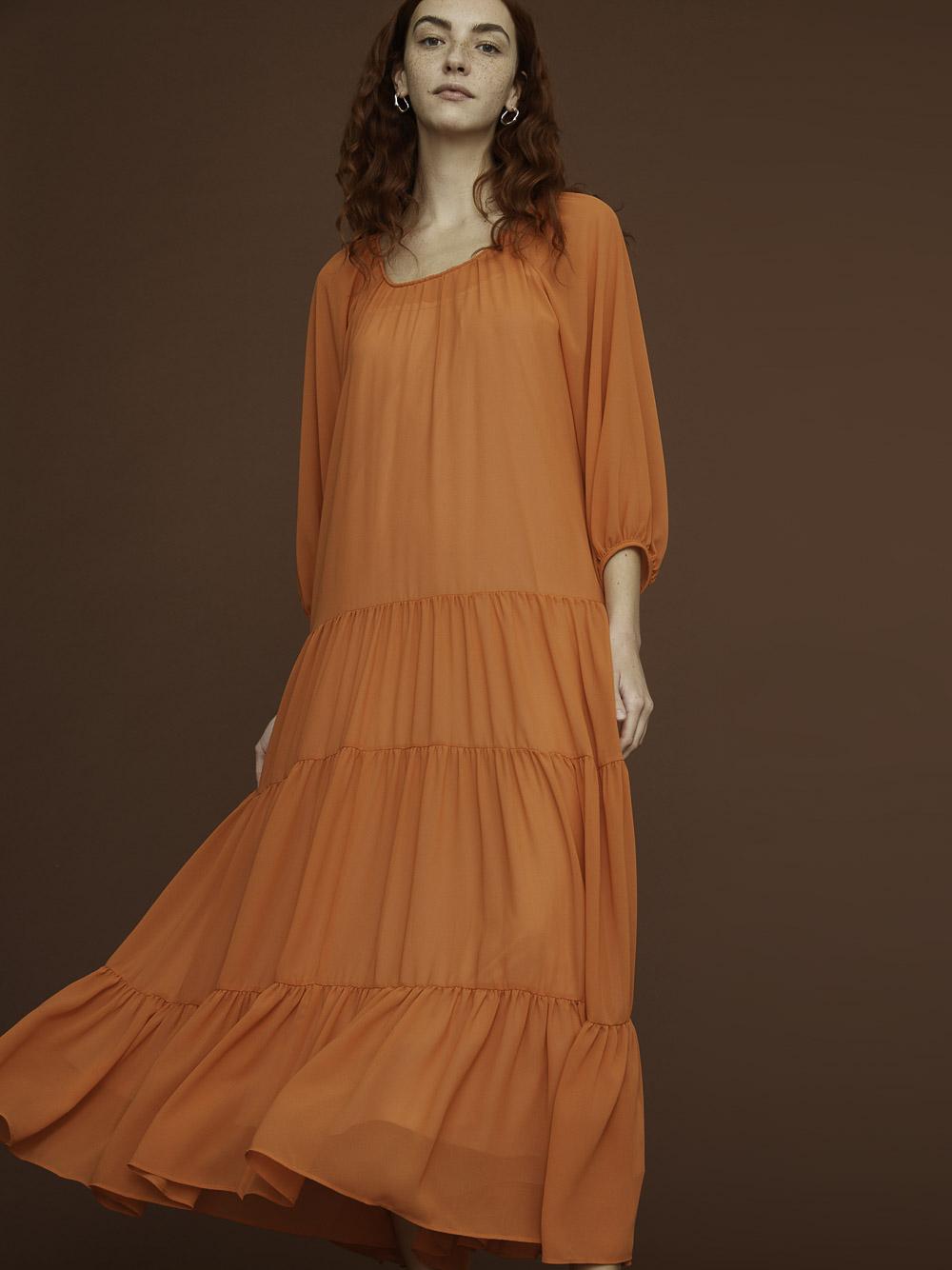 I Blues Φόρεμα ENSIGN 72211912 ORANGE