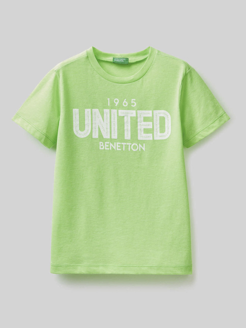 012 BENETTON Μπλούζα t-shirt 3U29C14IT 20P90A