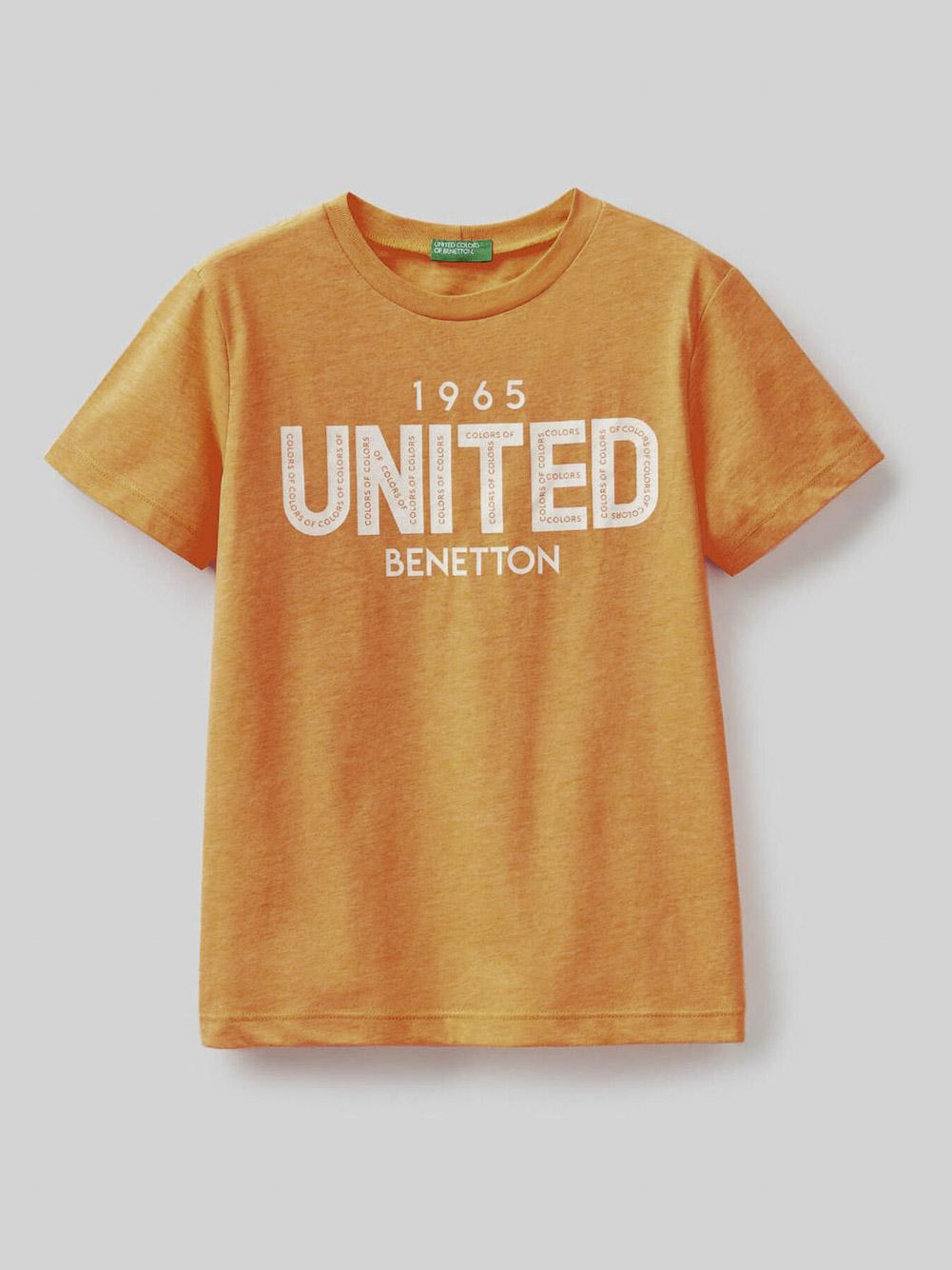 012 BENETTON Μπλούζα t-shirt 3U29C14IT 20P90B