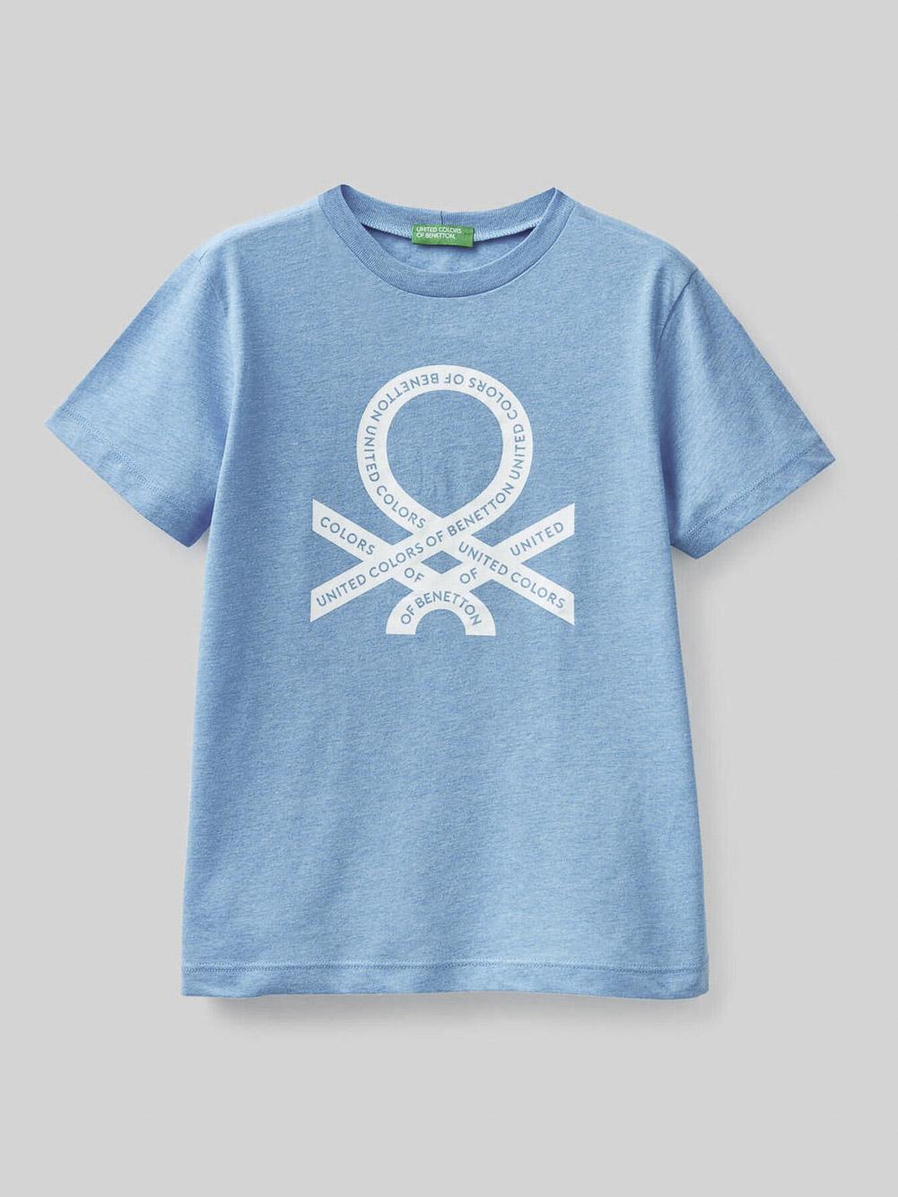 012 BENETTON Μπλούζα t-shirt 3U29C14IT 20P90P