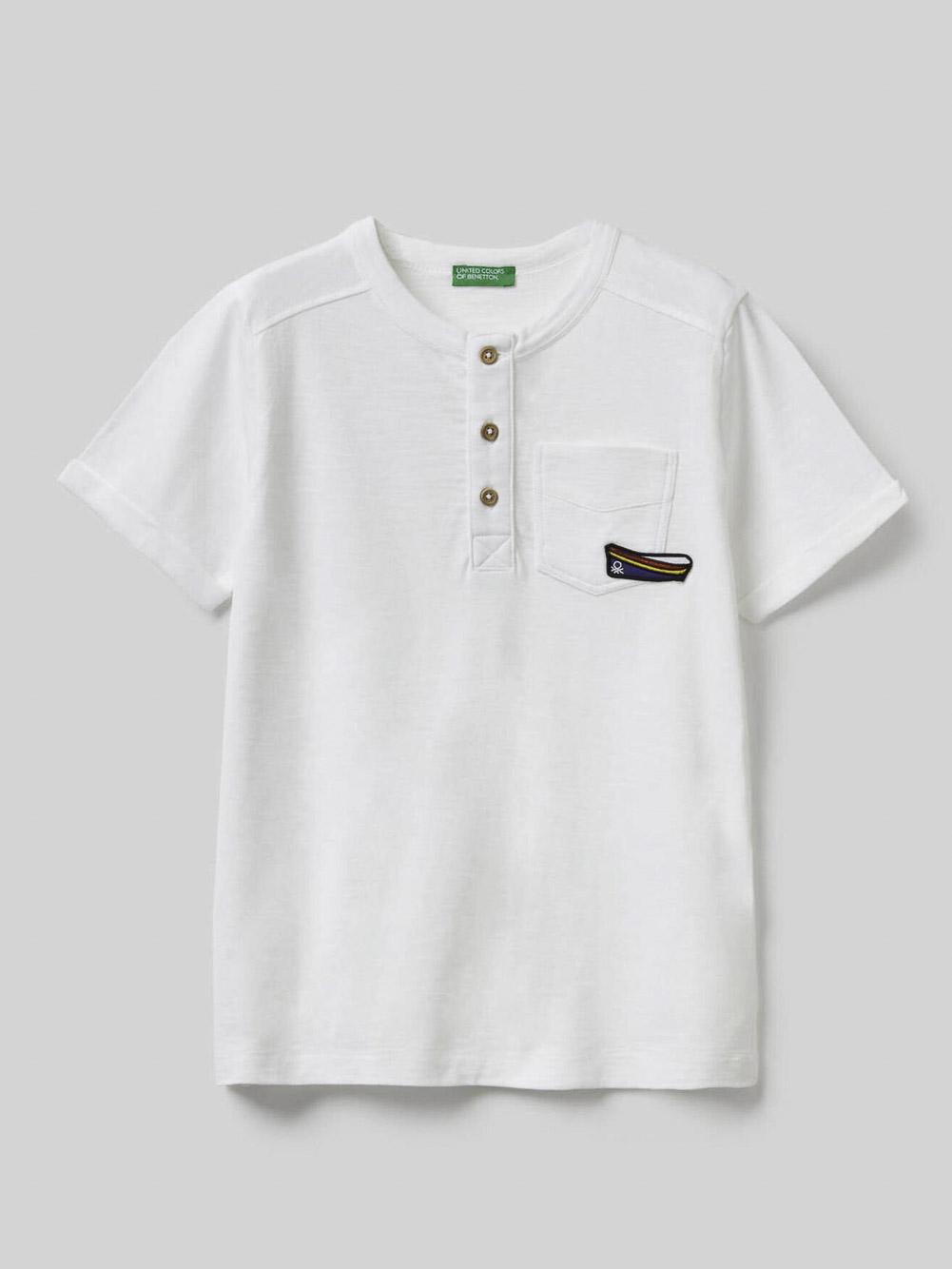 012 BENETTON Μπλούζα t-shirt 3BVXC7019 20P101