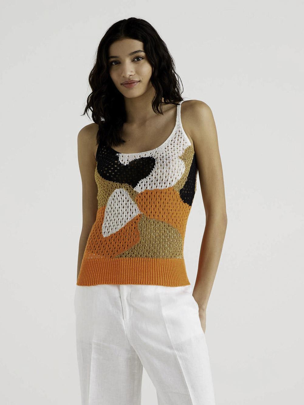 BENETTON Μπλούζα t-shirt 115GE8199 20P8E7