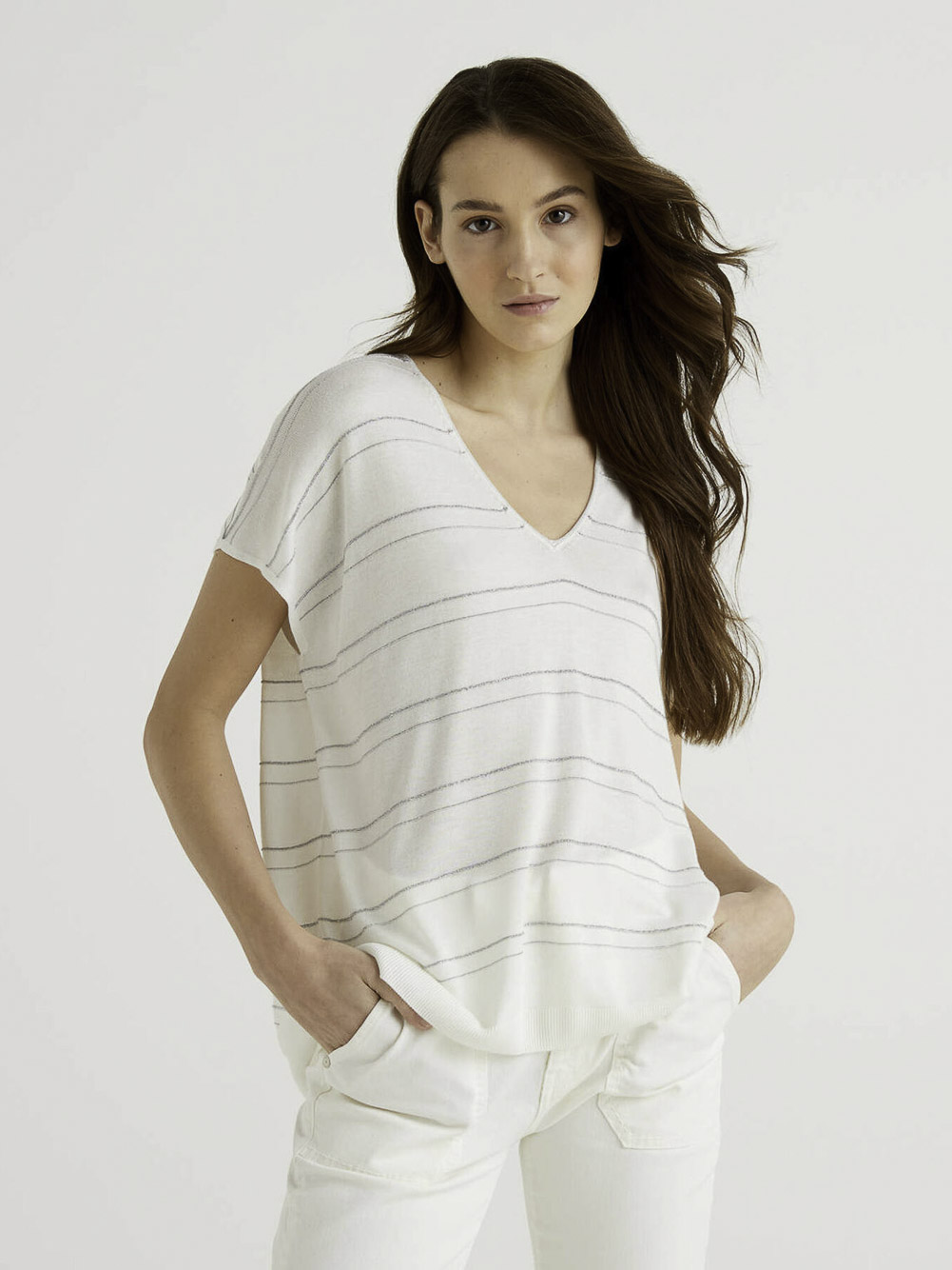 BENETTON Μπλούζα t-shirt 118RE4629 20P674