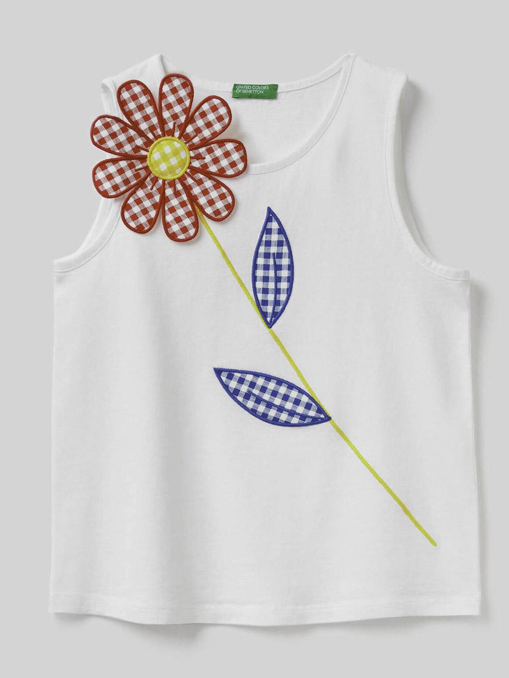 012 BENETTON Μπλούζα t-shirt 3096C8257 20P101