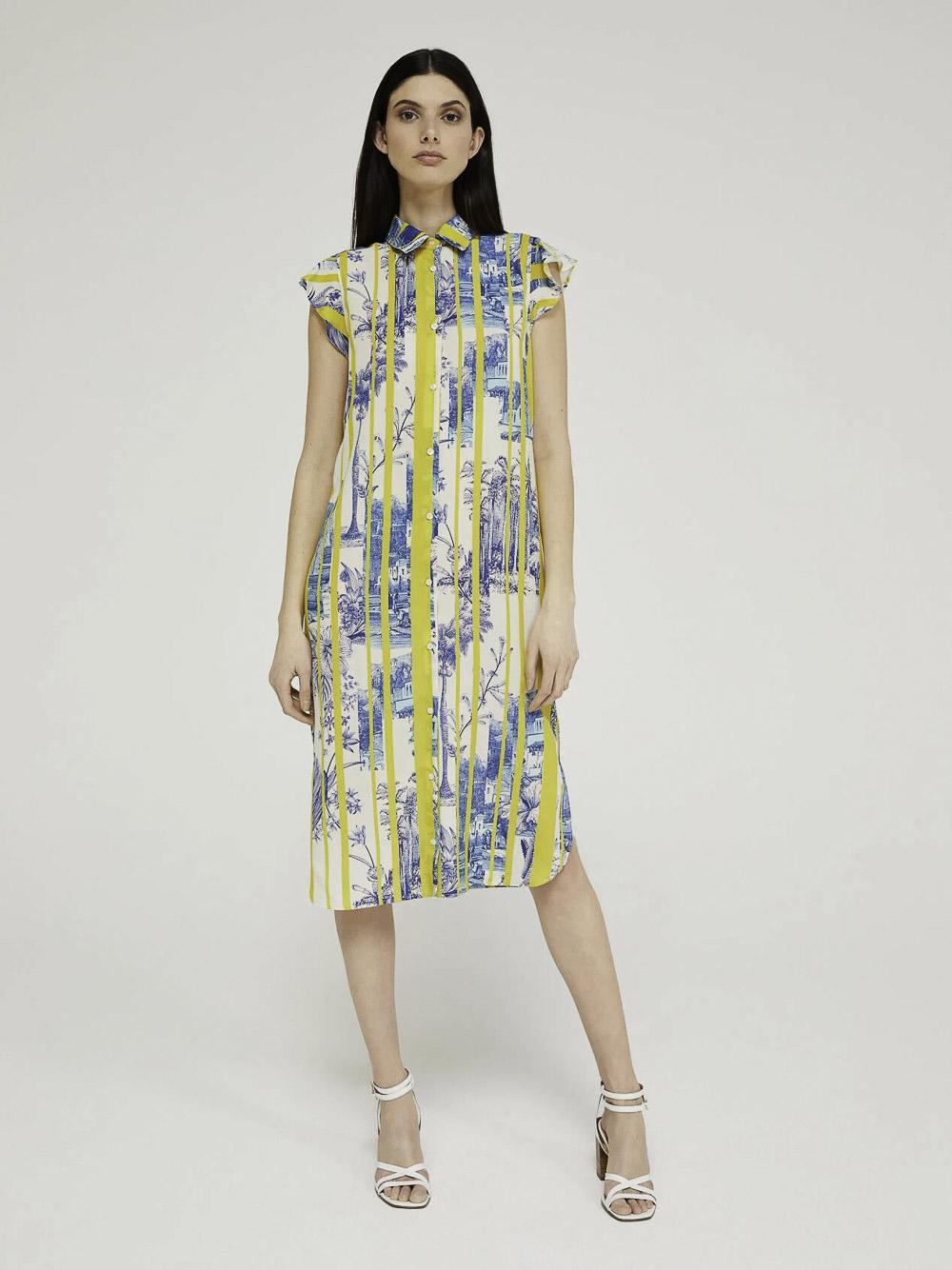 SISLEY Φόρεμα midi 4ACS5VDG7 20P95B