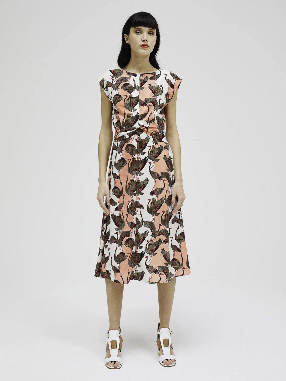 SISLEY Φόρεμα midi 4AGE5VGC7 20P94V