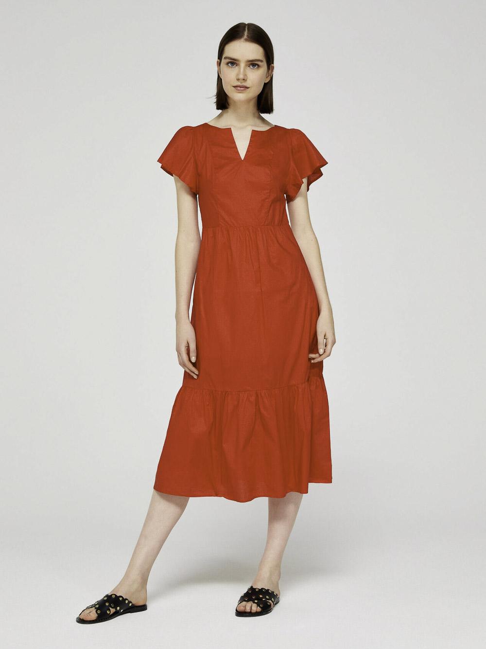 SISLEY Φόρεμα midi 4AAS5VG76 20P005