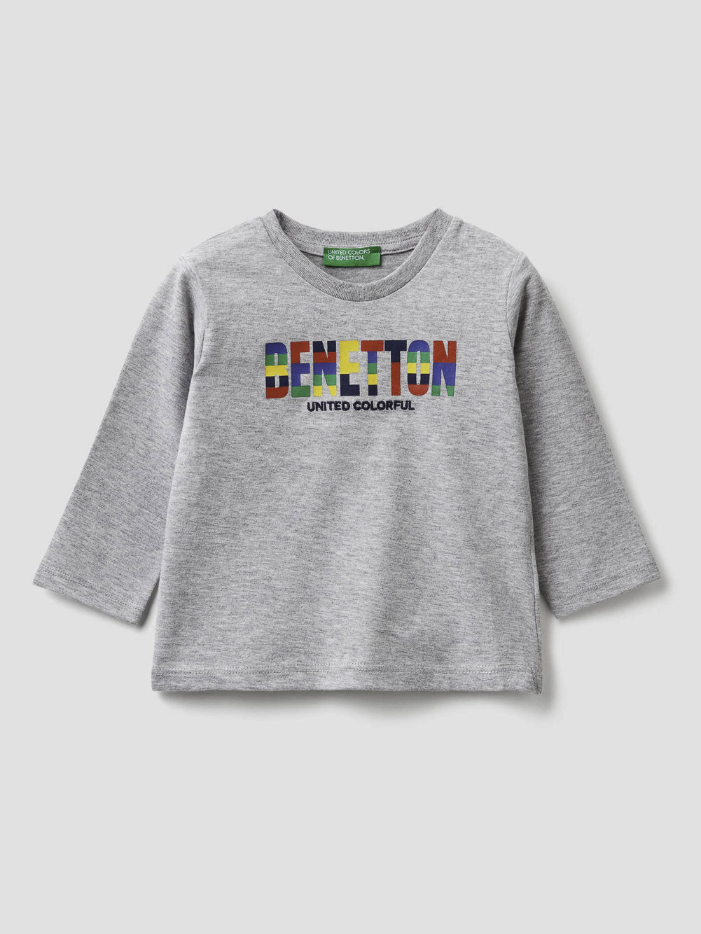 012 BENETTON T-shirt με λογότυπο 3ATNC14W1 20A501