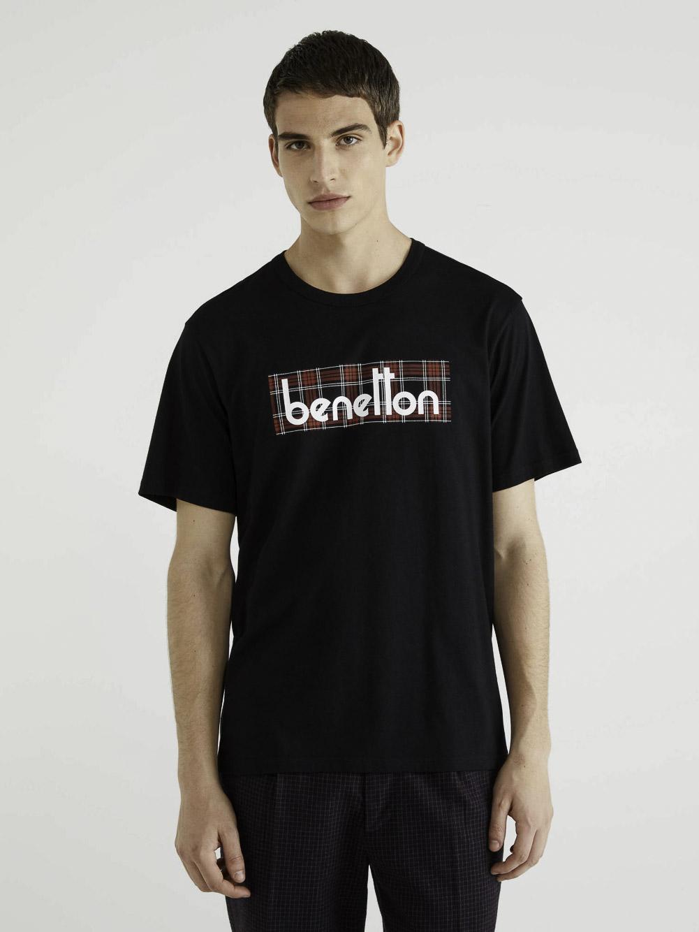 BENETTON T-shirt με λογότυπο 3096J17H6 20A905