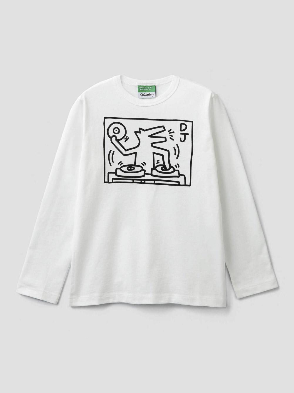 012 BENETTON T-shirt Keith Haring 3096C14U2 20A074