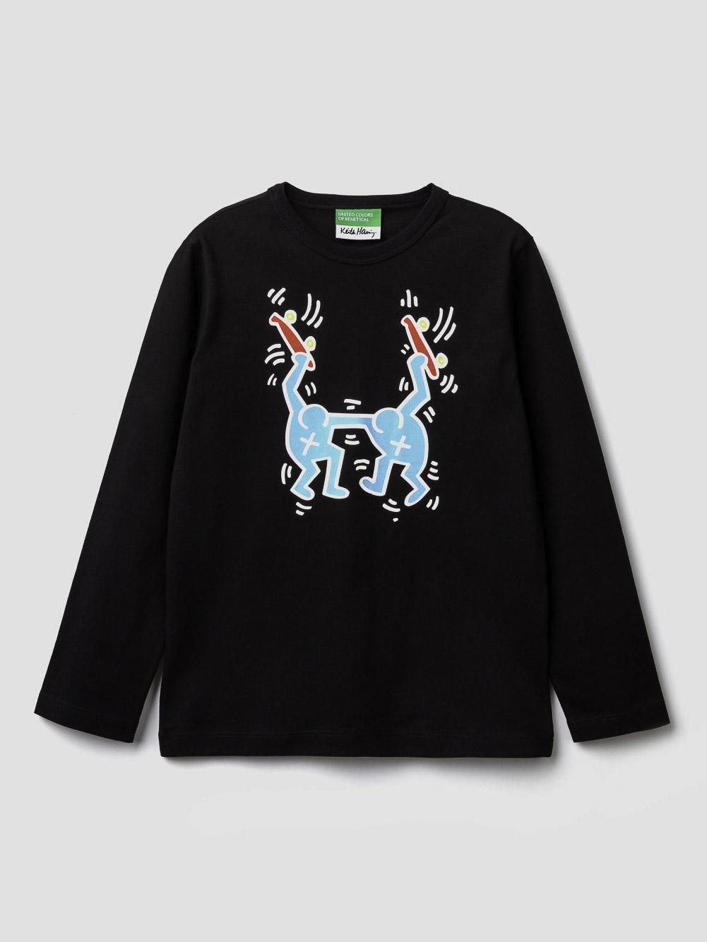 012 BENETTON T-shirt Keith Haring 3096C14U2 20A100