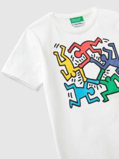 T-shirt Keith Haring unisex