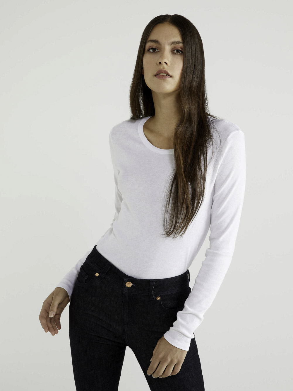 BENETTON T-shirt μακρυμάνικο 3GA2E16F9 20A101