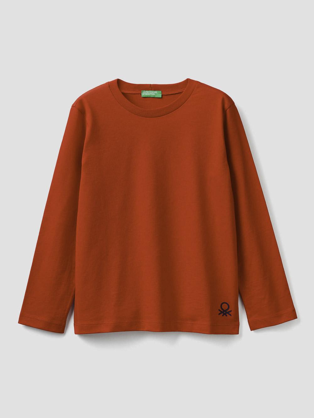 012 BENETTON T-shirt 100% οργανικό βαμβακερό 3I1XC14QD 20A015