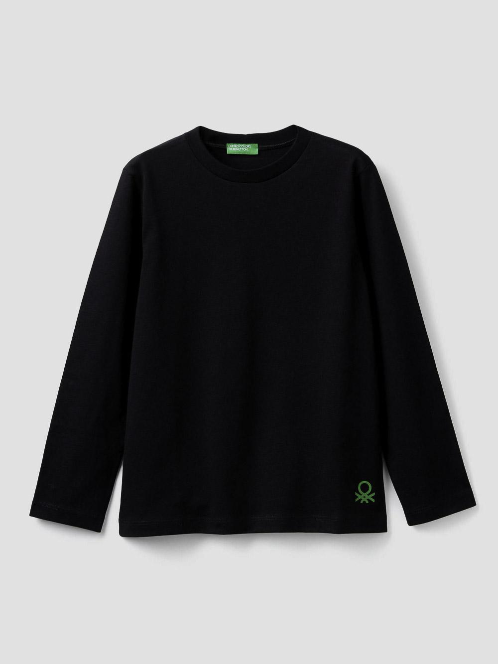 012 BENETTON T-shirt 100% οργανικό βαμβακερό 3I1XC14QD 20A100