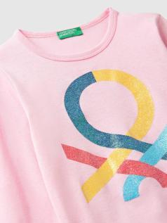 T-shirt μακρυμάνικο με λογότυπο