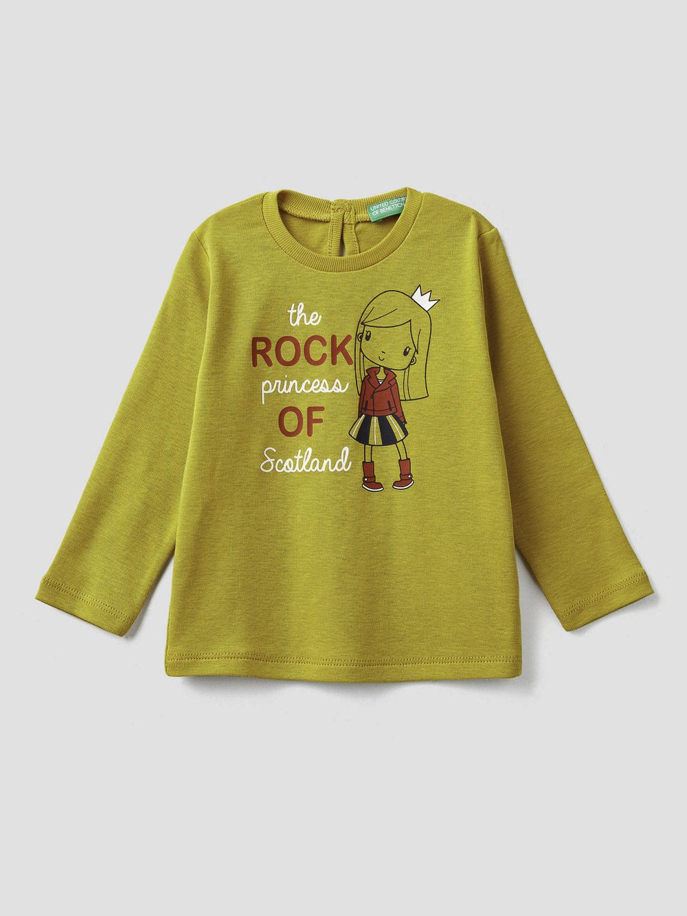 012 BENETTON T-shirt με τύπωμα 3I9WC14S3 20A29U