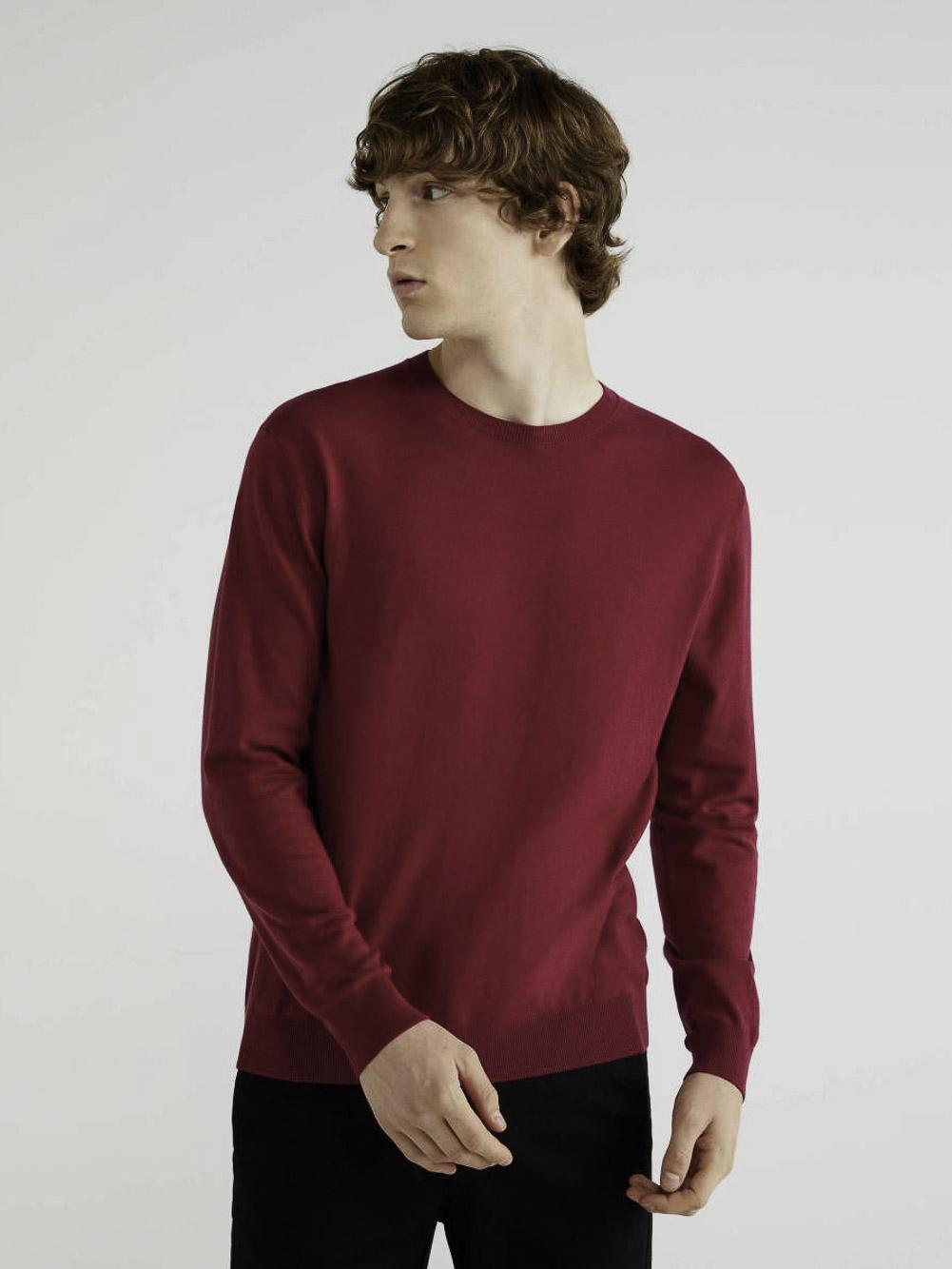 BENETTON Μπλούζα με λαιμόκοψη 10CVU1N60 20A08M