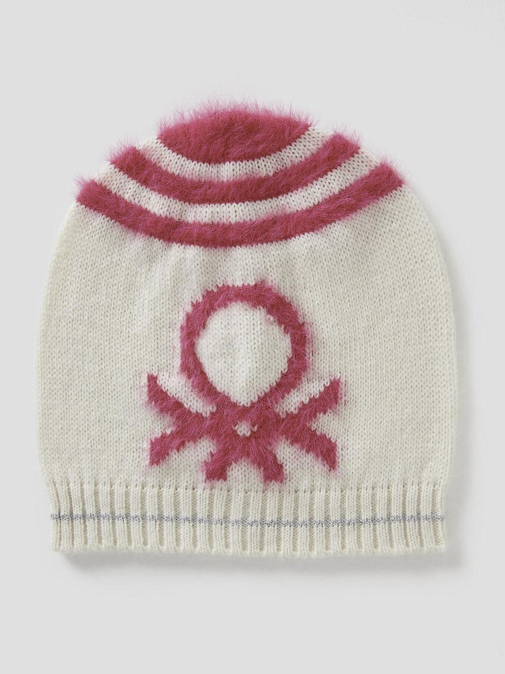 012 BENETTON Καπέλο από πλεκτό ύφασμα 1176Q0329 20A910