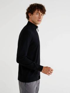 Μπλούζα ζιβάγκο με φερμουάρ