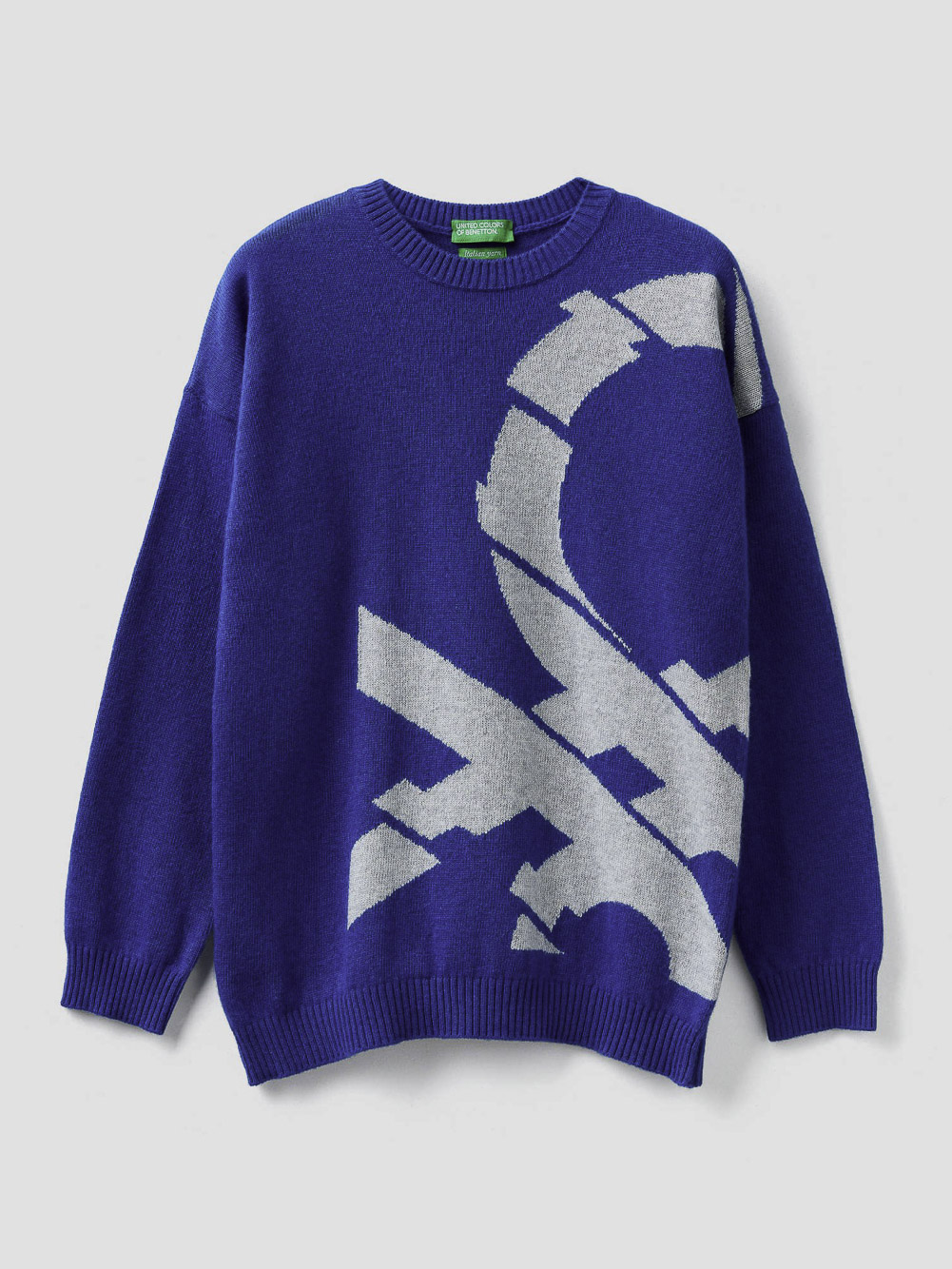 012 BENETTON Μπλούζα λογότυπο 1032Q1930 20A903