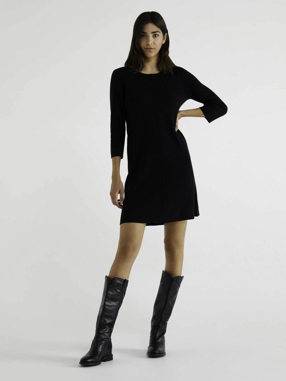 BENETTON Φόρεμα μανίκια 3/4 105WV1N09 20A700