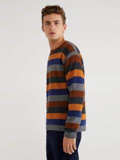 Μπλούζα με πολύχρωμα ριγέ