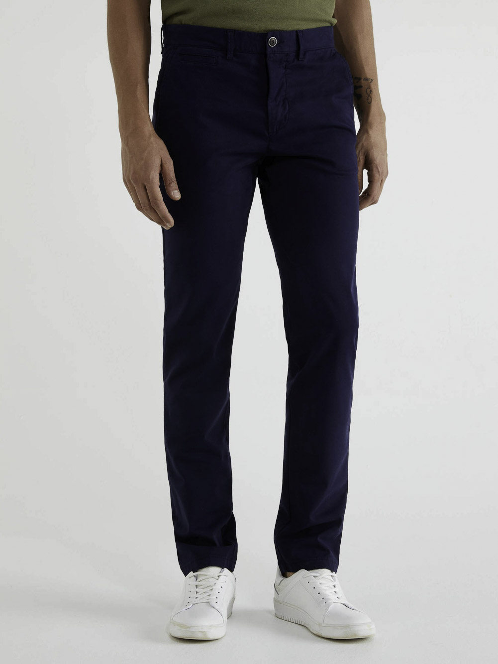 BENETTON Chino stretch slim fit 4DKH55I18 20A016