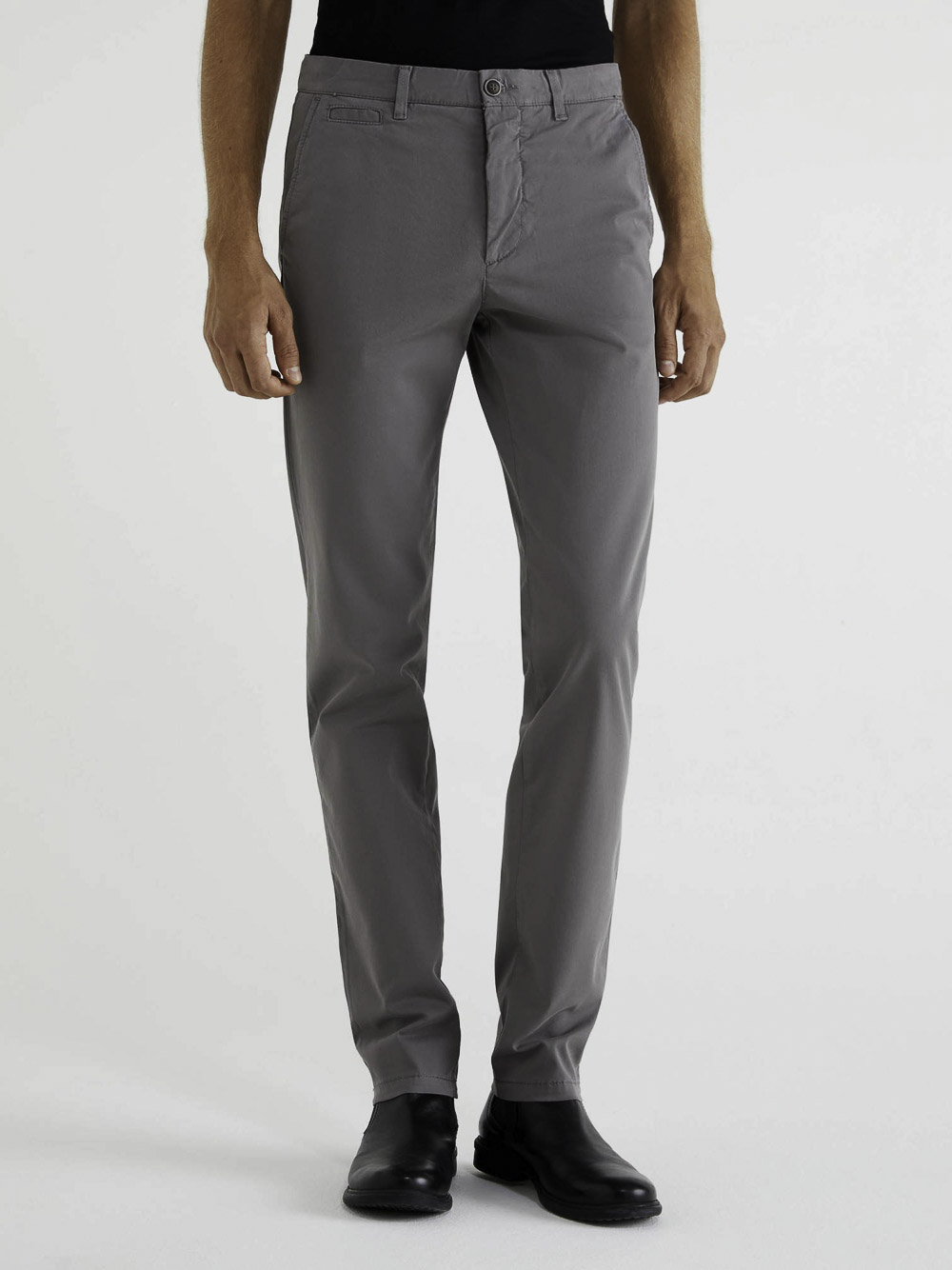 BENETTON Chino stretch slim fit 4DKH55I18 20A098