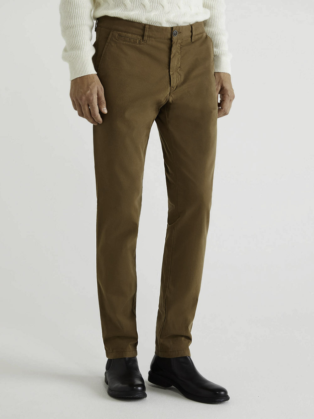 BENETTON Chino stretch slim fit 4DKH55I18 20A0B1