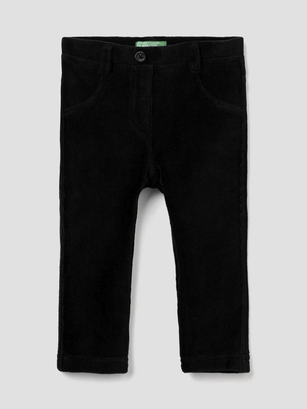 012 BENETTON Παντελόνι με ριπ ύφανση stretch 4DZB57MI0 20A100