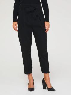 Παντελόνι με υψηλή μέση και ζώνη