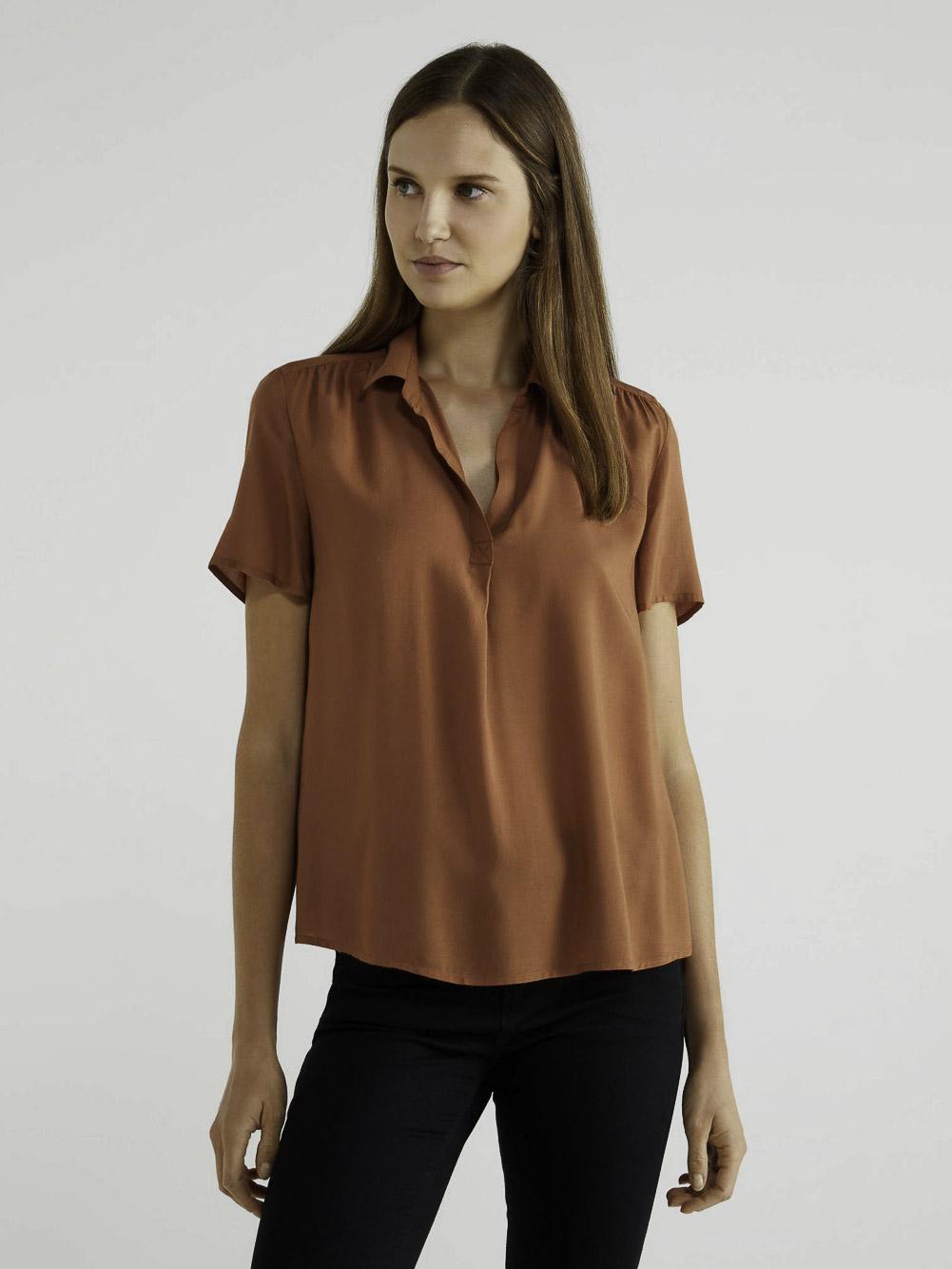 BENETTON Μπλούζα με V λαιμόκοψη 5SF05QBZ3 20A03C