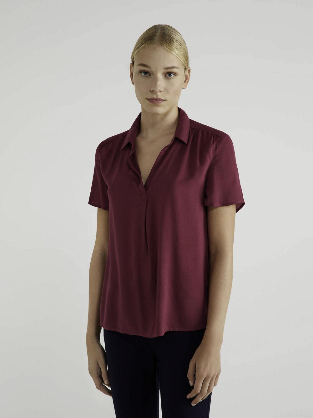 BENETTON Μπλούζα με V λαιμόκοψη 5SF05QBZ3 20A08M