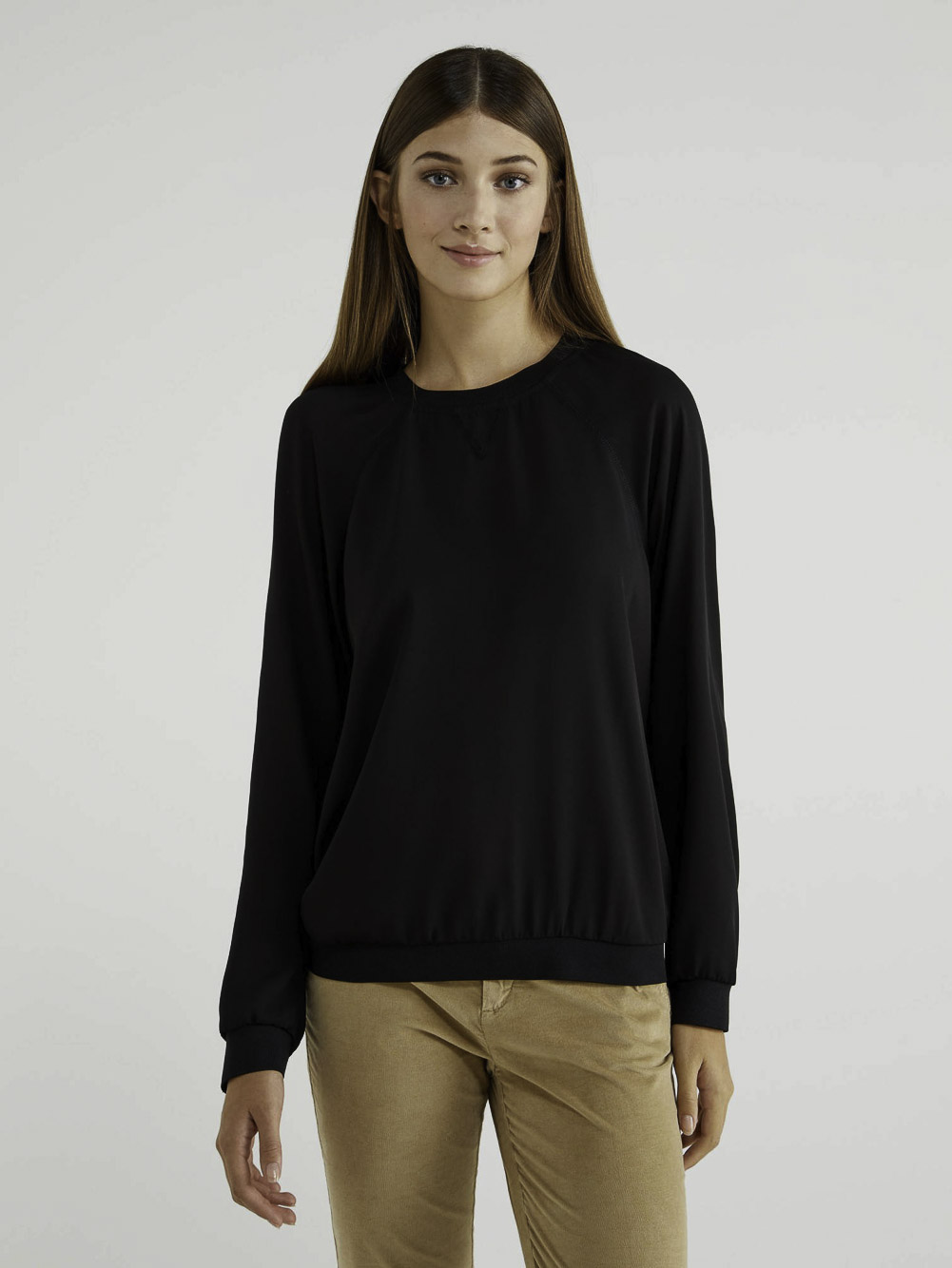 BENETTON Μπλούζα με λαιμόκοψη 5SB35QCG3 20A100