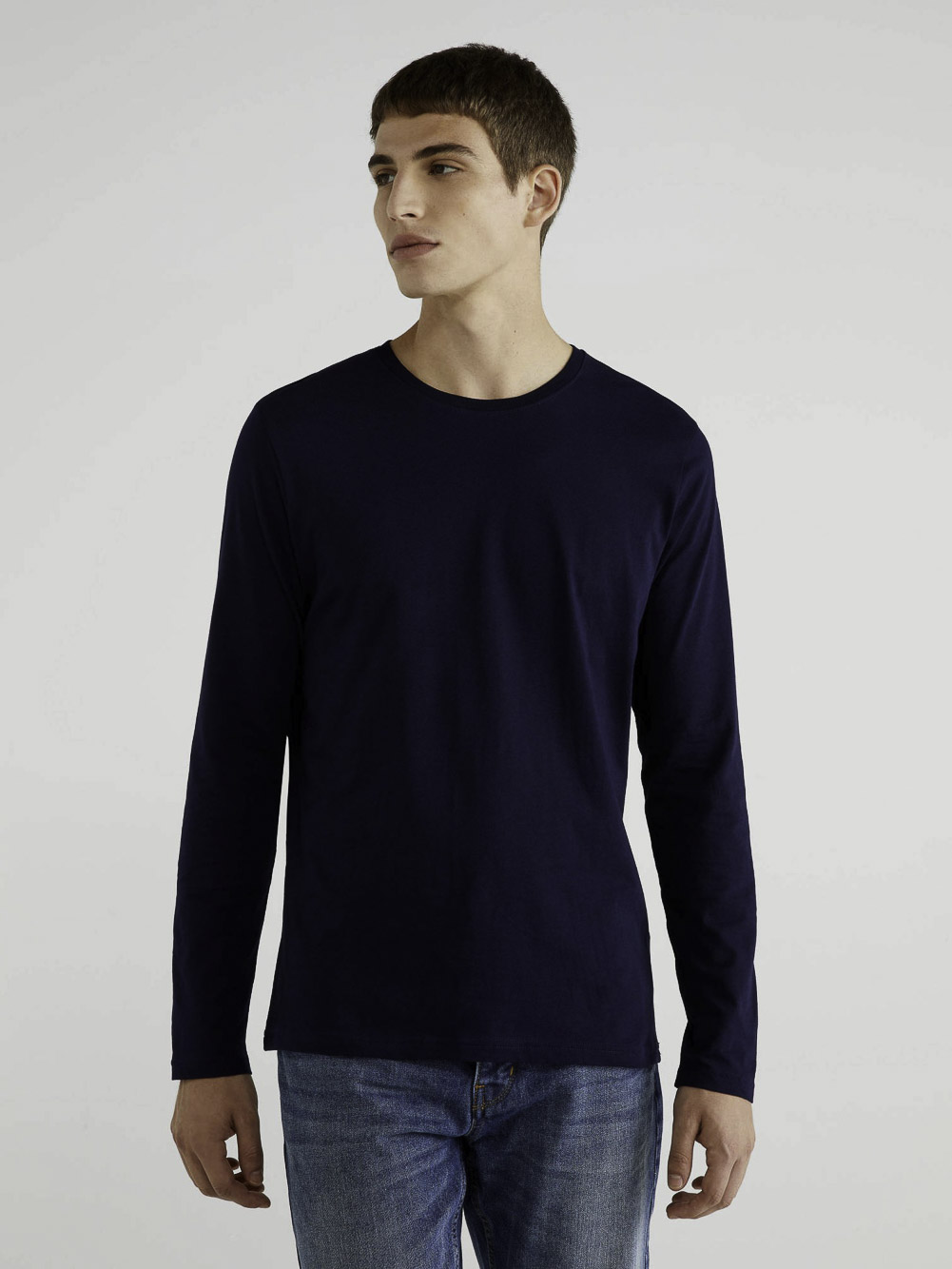 BENETTON T-shirt μακρύ μανίκι 3U53J1F05 20A016