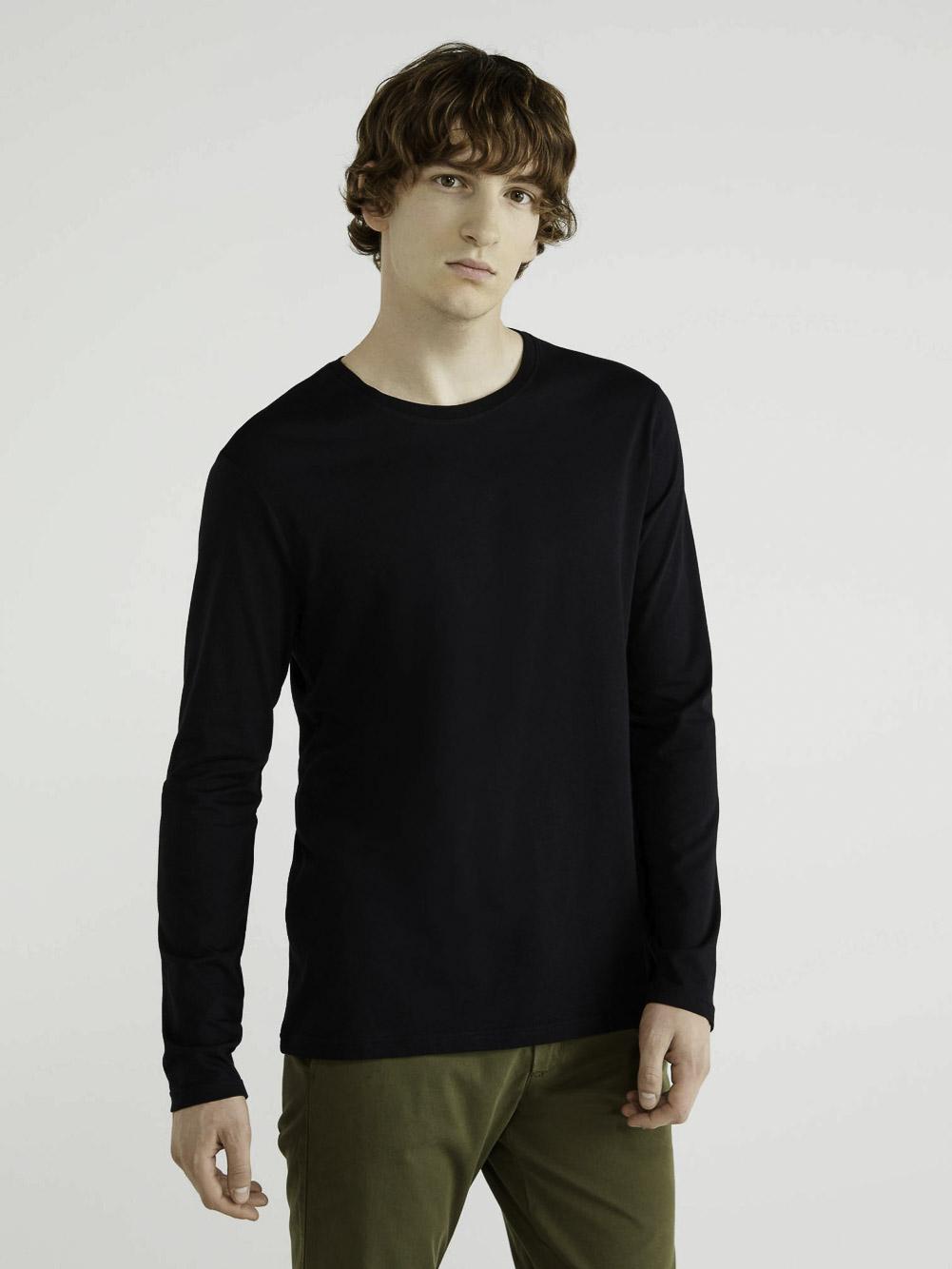 BENETTON T-shirt μακρύ μανίκι 3U53J1F05 20A100