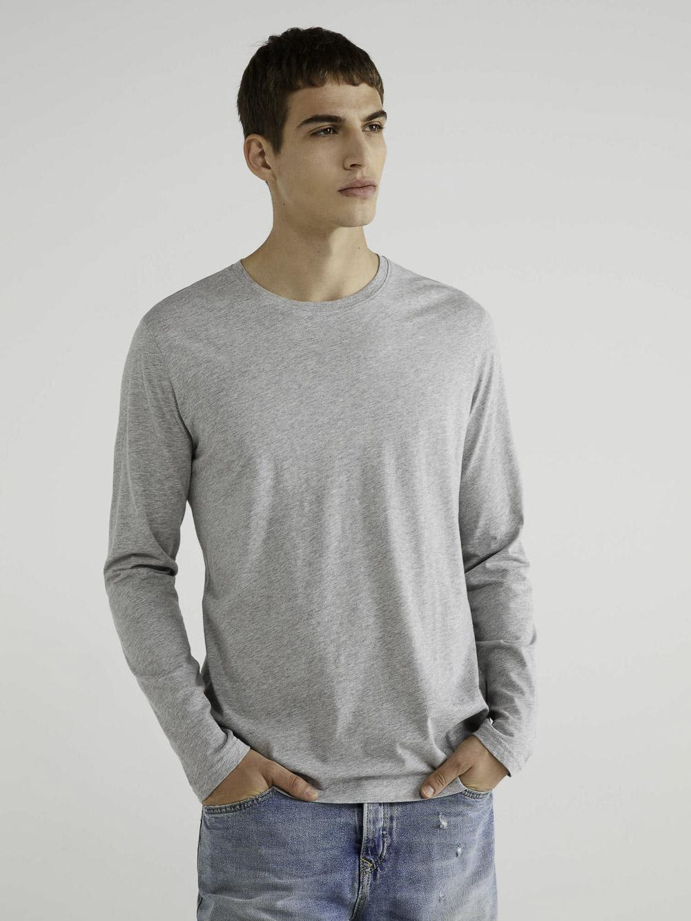 BENETTON T-shirt μακρύ μανίκι 3U53J1F05 20A501