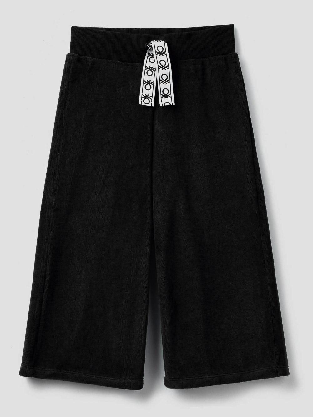 012 BENETTON Παντελόνι 3/4 από σενίλ 3UK0I0100 20A100